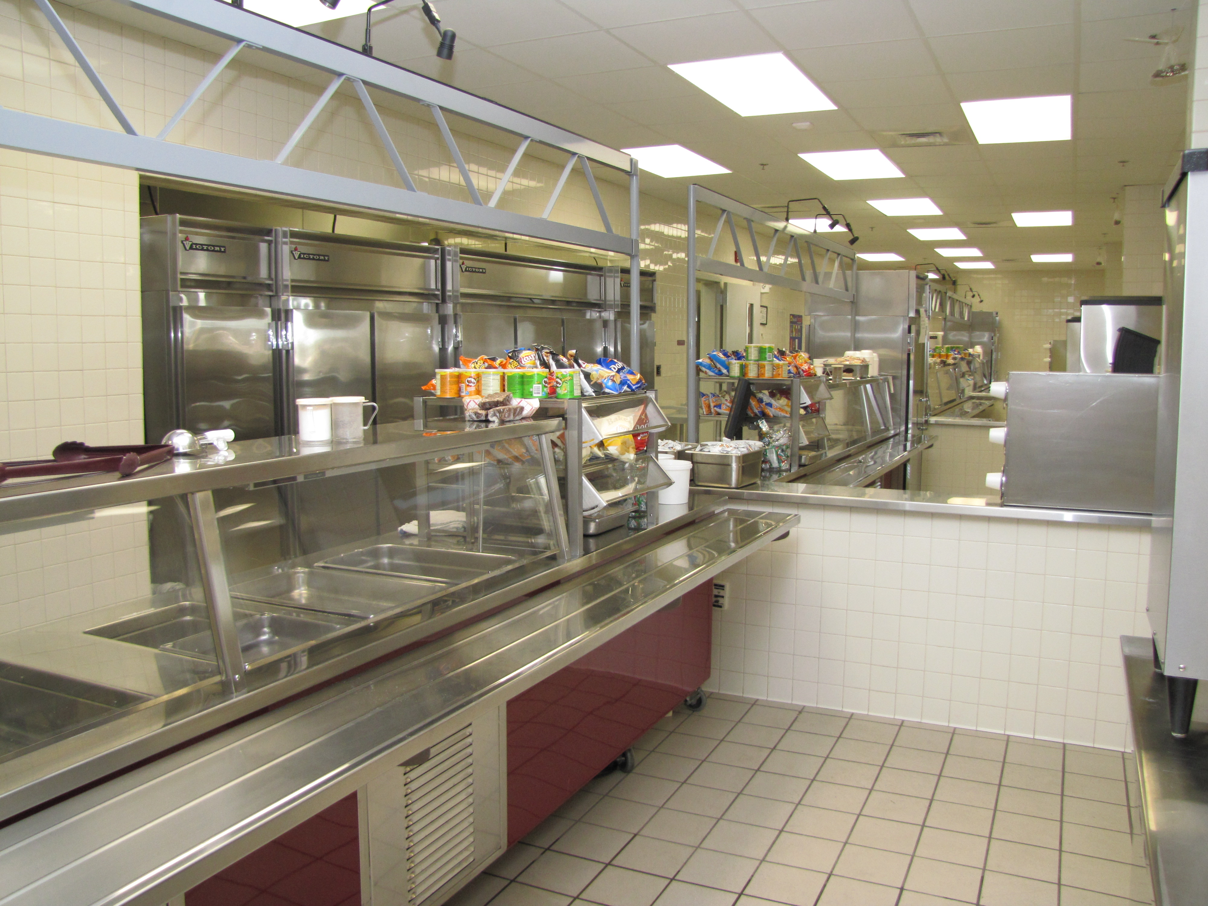 School Cafeteria Kitchen ~ Bunker hill high school cafeteria and kitchen hickory